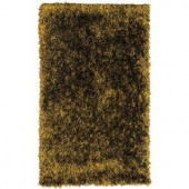 Lanart Electric Ave Chocolate 4 ft. x 6 ft. Area Rug
