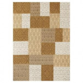 Kas Rugs Elegant Combo Gold 7 ft. 6 in. x 9 ft. 6 in. Area Rug