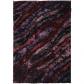 Chandra Flemish Purple/Burgundy 7 ft. 9 in. x 10 ft. 6 in. Indoor Area Rug
