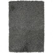 Chandra Poligan Grey 9 ft. x 13 ft. Indoor Area Rug