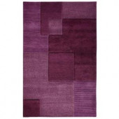 Home Decorators Collection Clara Plum 3 ft. 6 in. x 5 ft. 6 in. Area Rug