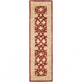Safavieh Anatolia Red and Moss 2 ft. 3 in. x 14 ft. Runner
