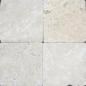 MS International 6 In. x 6 In. Tumbled Chiaro Travertine Floor & Wall Tile