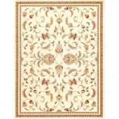 Natco Annora Ivory 7 ft. 10 in. x 10 ft. 10 in. Area Rug