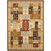 Safavieh Lyndhurst Assorted/Ivory 3 ft. 3 in. x 5 ft. 3 in. Area Rug
