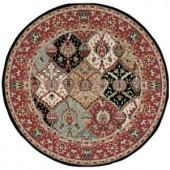 Nourison Modesto Reverie Multicolor 5 ft. 3 in. Round Area Rug