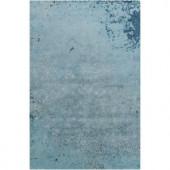 Chandra Rupec Blue/Grey 5 ft. x 7 ft. 6 in. Indoor Area Rug