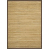 LR Resources Shiro Natural 5 ft. x 7 ft. Eco-friendly Indoor Area Rug