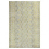 Kas Rugs Moroccan Class Frost/Cream 3 ft. 3 in. x 5 ft. 3 in. Area Rug