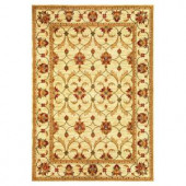 Kas Rugs State of Honor Ivory 2 ft. 7 in. x 4 ft. 1 in. Area Rug
