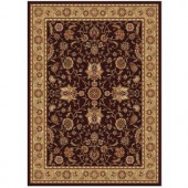 Home Dynamix Mercedes Brown-Gold 5 ft. 2 in. x 7 ft. 2 in. Area Rug