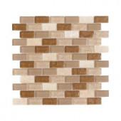 Jeffrey Court Honey Onyx Brick 12 in. x 12 in. Onyx Floor / Wall Tile