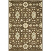 Loloi Rugs Fairfield Life Style Collection Brown 7 ft. 6 in. x 9 ft. 6 in. Area Rug