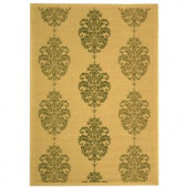 Safavieh Courtyard Natural/Olive 5.3 ft. x 7.6 ft. Area Rug