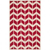 Safavieh Chatham Red/Ivory 3 ft. x 5 ft. Area Rug