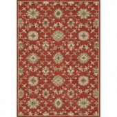 Loloi Rugs Fairfield Life Style Collection Persimmon 5 ft. x 7 ft. 6 in. Area Rug