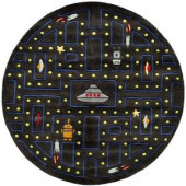 Momeni Caprice Collection Arcade 5 ft. x 5 ft. Round Area Rug