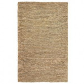 Home Decorators Collection Chainstitch Natural 4 ft. x 6 ft. Area Rug