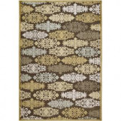 Artistic Weavers Cynthia Gold Viscose and Chenille 2 ft. 6 in. x 7 ft. 10 in. Area Rug