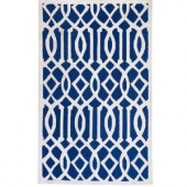 Home Decorators Collection Archer Navy 2 ft. 6 in. x 4 ft. Area Rug