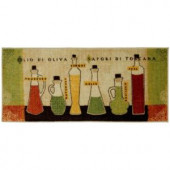 Mohawk Toscana Multi 20 in. x 45 in. Accent Kitchen Rug