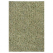 Kas Rugs Stocky Shag Green/Blue 2 ft. 3 in. x 3 ft. 9 in. Area Rug