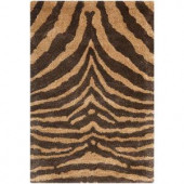 Safavieh Soho Brown/Gold 3.5 ft. x 5.5 ft. Area Rug