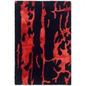 Safavieh Soho Black/Red 2 ft. x 3 ft. Area Rug