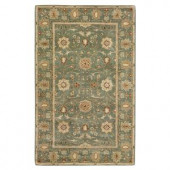 Home Decorators Collection Amboise Sea Green 3 ft. 6 in. x 5 ft. 6 in. Area Rug