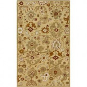 Home Decorators Collection Edmonds Gold 3 ft. 6 in. x 5 ft. 6 in. Area Rug