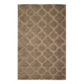 Home Decorators Collection Morocco Taupe 3 ft. 6 in. x 5 ft. 6 in. Area Rug