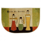 Mohawk Toscana Multi 18 in. x 30 in. Accent Slice Kitchen Rug