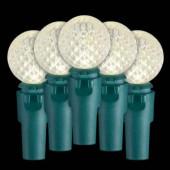 9.4 ft. 30-Light LED Warm White Battery-Operated Light Set