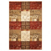 Kas Rugs Floral Patchwork Sienna 2 ft. 2 in. x 3 ft. 3 in. Area Rug