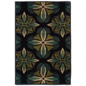 Oriental Weavers Camille Daly Blue 1 ft. 10 in. x 2 ft. 10 in. Scatter Area Rug