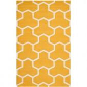 Safavieh Cambridge Gold/Ivory 3 ft. x 5 ft. Area Rug