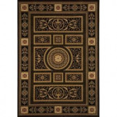 Home Dynamix Empire Black 12 ft. 5 in. x 15 ft. 8 in. Area Rug