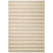 Kas Rugs Casual Chic Winter White 3 ft. 3 in. x 5 ft. 3 in. Area Rug