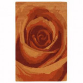 Home Decorators Collection Blossom Terra 2 ft. 6 in. x 4 ft. 6 in. Accent Rug