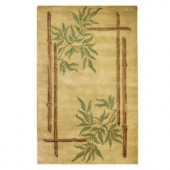 Home Decorators Collection Bamboo Gold 8 ft. x 11 ft. Area Rug