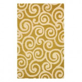 Home Decorators Collection Bella Ivory 2 ft. x 3 ft. Area Rug