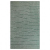 Kas Rugs Subtle Texture Blue 3 ft. 3 in. x 5 ft. 3 in. Area Rug