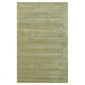 Kas Rugs Solid Texture Sage 2 ft. 6 in. x 4 ft. 2 in. Area Rug