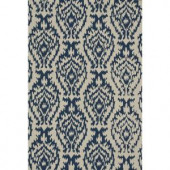 Loloi Rugs Summerton Life Style Collection Ivory Denim 5 ft. x 7 ft. 6 in. Area Rug