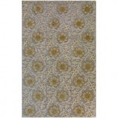 BASHIAN Verona Collection Athena Light Blue 3 ft. 6 in. x 5 ft. 6 in. Area Rug