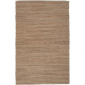 LR Resources Sonora Sahara Natural 9 ft. x 12 ft. Eco-friendly Indoor Area Rug