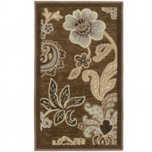 Orian Rugs Eve Birch Brown 1 ft. 10 . x 3 ft. 3 in. Accent Rug