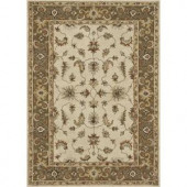 Loloi Rugs Fairfield Life Style Collection Ivory Bronze 5 ft. x 7 ft. 6 in. Area Rug