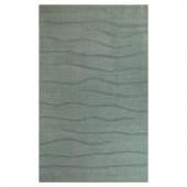 Kas Rugs Subtle Texture Blue 8 ft. x 10 ft. Area Rug