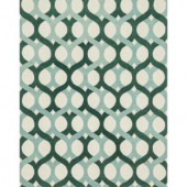 Loloi Rugs Weston Lifestyle Collection Blue Green 7 ft. 9 in. x 9 ft. 9 in. Area Rug
